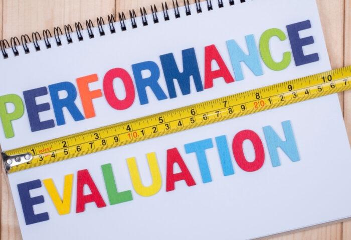 performance evaluation high school