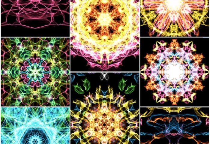 symetryczne kształty matematyka