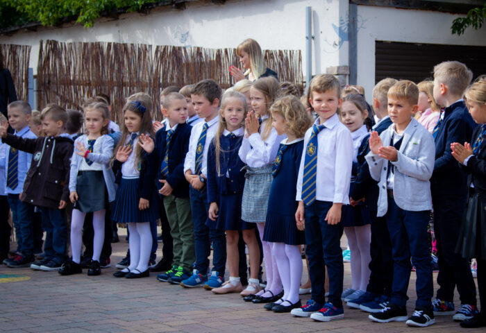 rok szkolny podstawowa szkoła łomianki